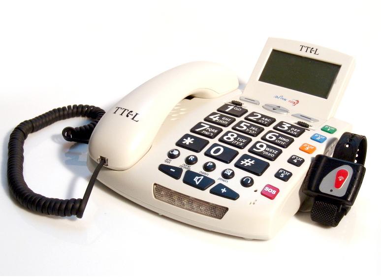טלפון שולחני מוגבר Tel1000
