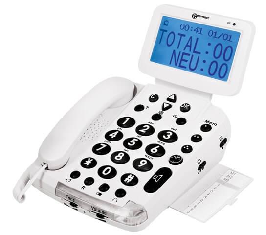 טלפון נייח מוגבר BDP400