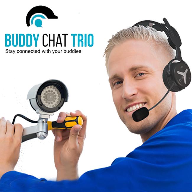 מערכת תקשורת Buddy Chat Trio