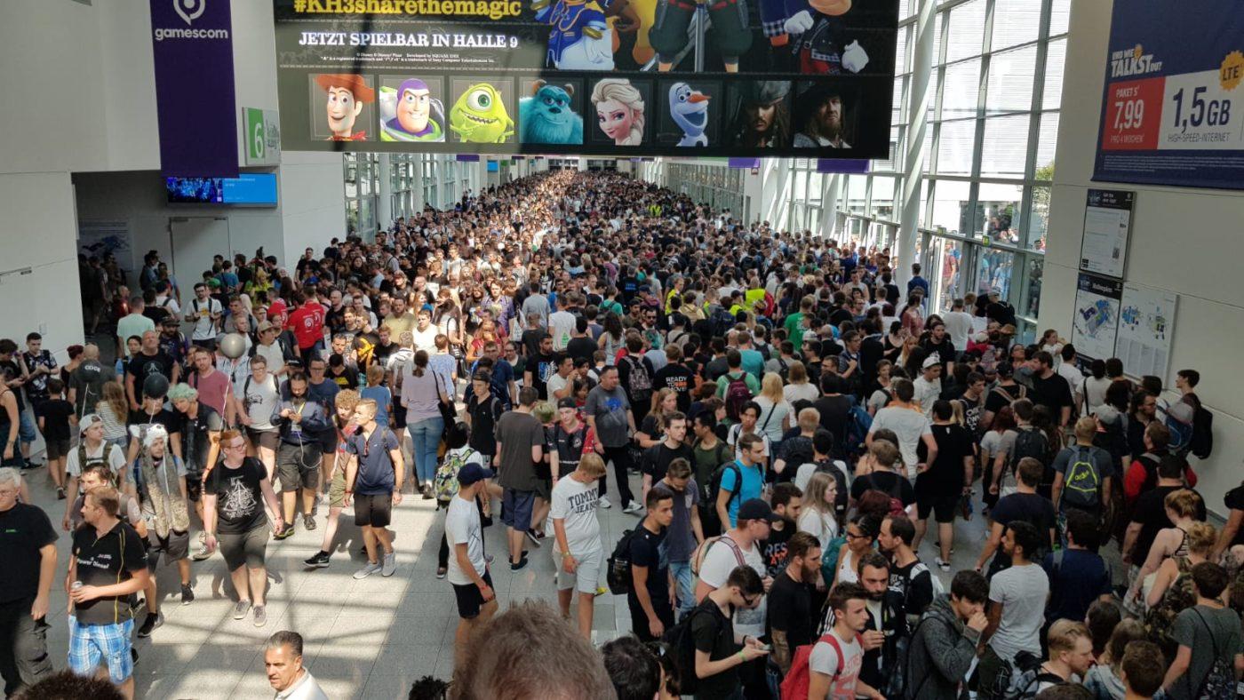 נציגי חברת 'מהלב' בכנס Gamescom 2018 בגרמניה