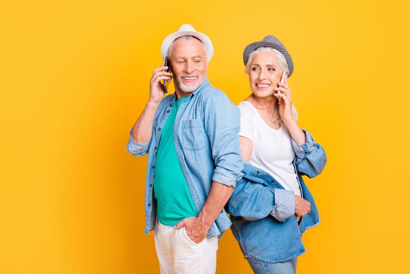 טלפון סלולרי חכם מותאם למבוגרים ולכבדי שמיעה