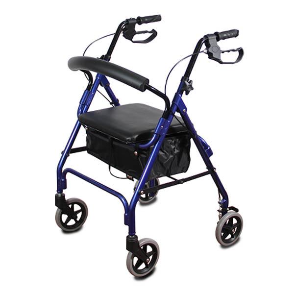 רולטור עם מושב 4 גלגלים